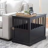 Boomer & George Newport II Black Wooden Pet Crate