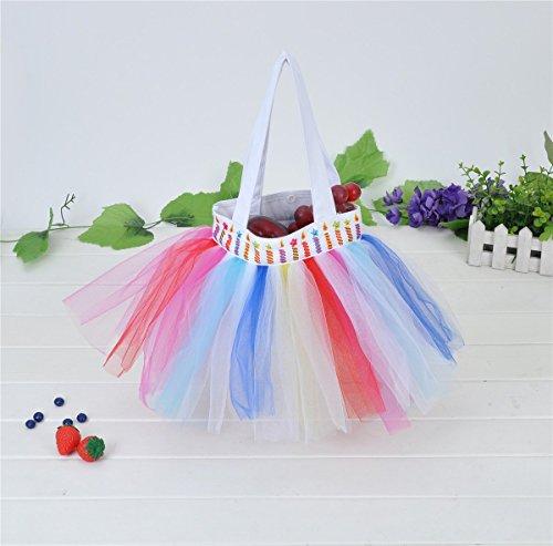 Bags Costume Dream Duffel (Anleolife Tutu tote Bags For Girls Dance Handbag Carrier bag Birthday Party Storage Favors Bag)