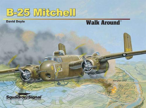 Squadron Signal Publications B-25 Mitchell Walk Around for sale  Delivered anywhere in USA