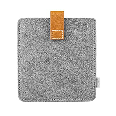 Inateck New Kindle Oasis E-reader Case Cover Felt Sleeve, Gray by Inateck