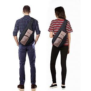 Crossbody Bags for Women Men Sling Bag Sling Backpack Shoulder Bag by TOPERIN