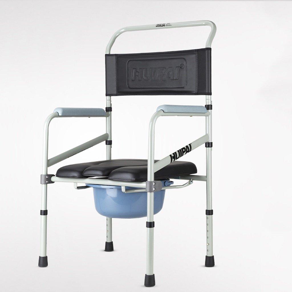 LXN 椅子バスチェア折りたたみ式高さ調整可能妊婦老人トイレチェア丈夫な防水 B07DGLS3DV
