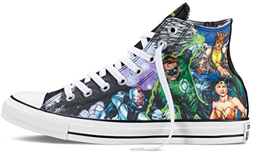 Converse DC Comics Justice League Chuck Taylor All Star Sneakers Limited  best 29ce8e18c