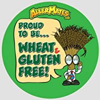 Allermates 10209 Wheat-Gluten Free Alert Stickers