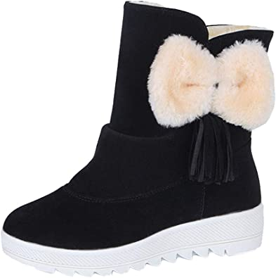 Casual Chaussures Femmes Mode Marque Neige Bottes Dame