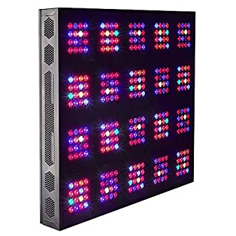 JamesBand LED Grow Light LED Plant Grow Light Magic Square Series 20-Module 600W Beneficial for Seeding to Fruiting Stage LED Greenhouse Lights LED Horticulture Lights LED Hydroponics lights