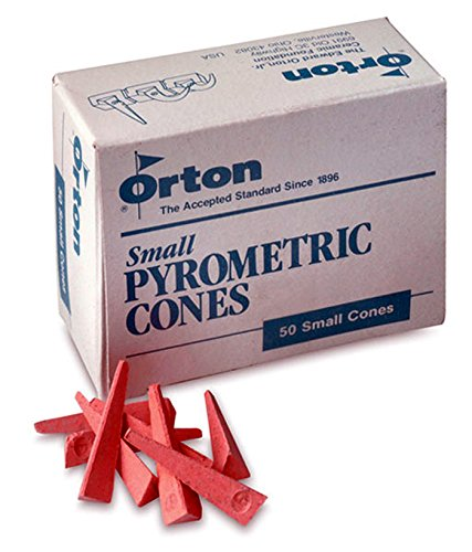 Orton Junior Pyrometric Cone, No 06 Small, 1-1/8 in, Box of 50