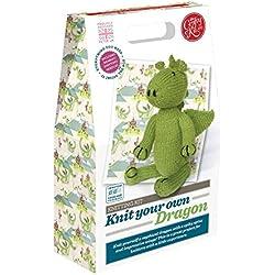 The Crafty Kit Co. Knitting Kit-dragon