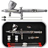 Master Airbrush G444-SET High Precision Detail Control Dual-action Gravity F...