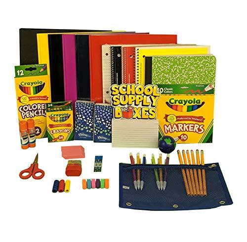 Elementary School Essentials Back to School Kit - School Supplies Bundle Includes 1