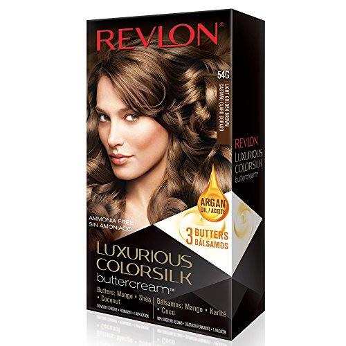 Revlon Luxurious Colorsilk Buttercream, Light Golden Brown