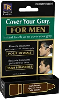cover your gray coloration capillaire pour homme chtain fonc - Gel Colorant Cheveux Homme