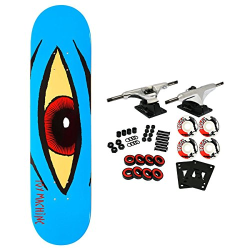 Toy Machine Skateboard Complete Sect Eye Blue -