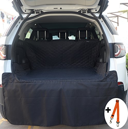 FLR Cargo Liner Cover Waterproof Durable Washable Car Pet Seat Cover Backing Protection Dog Mats for Travel Cars, SUV, Vans & Trucks-Universal Fit-80X52in - Suv Cargo Protection