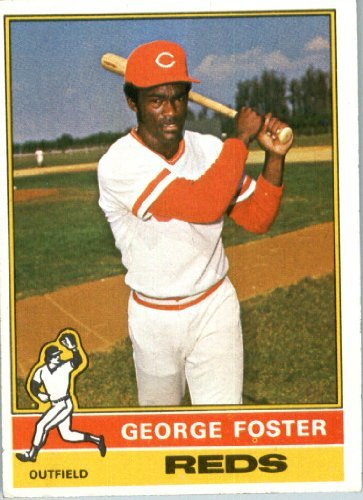 1976 Topps Baseball Card #179 George Foster