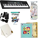 Homeschool Music - Learn to Play the Piano Pack (Disney's Princess Collection Vol2 Bundle) - Casio CTK 2550 Keyboard w/Adapter, learn 2 Play DVD/Book, Books & All-Inclusive Learning Essentials