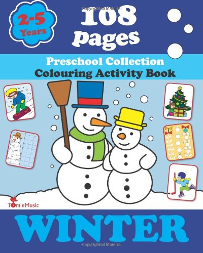 winter coloring book pages worksheets