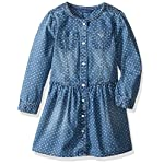 GUESS Girls' Little Star Print Denim Dress