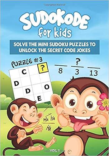 Sudokode for Kids: Funny Monkey Secret Code Jokes You Unlock