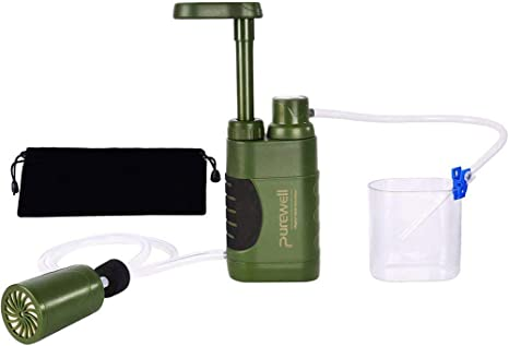 THE BEST DAY El Mejor día purificador de Agua para Exteriores, Filtro de Agua de Emergencia Personal, Mini Filtro portátil para Actividades al Aire Libre: Amazon.es: Deportes y aire libre