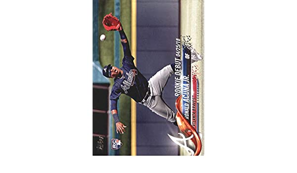 2018 Topps Update #US252 Ronald Acuna Jr. RD - Atlanta Braves at Amazons Sports Collectibles Store