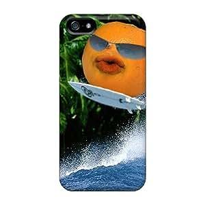 Iphone 5/5s Case Cover Skin : Premium High Quality Annoying Orange Case