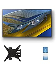 """$2417 » Sony XR-65A80J 65"""" OLED BRAVIA XR 4K Ultra HD Smart TV with a Walts TV Medium Full Motion Mount for 32""""-65"""" Compatible TV's and a Walts HDTV Screen Cleaner Kit (2021)"""