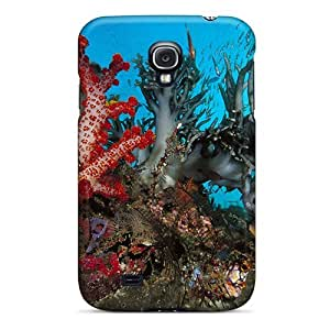 Defender Case For Galaxy S4, Soft Corals Pattern
