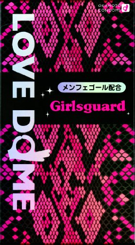 Okamoto LOVE DOME | Condoms | Girlsguard 12pc w/ Menfegol Jelly - Love Jelly