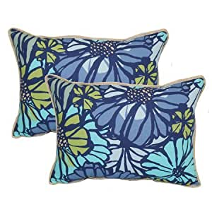 Better homes and gardens sausalito floral - Better homes and gardens pillows ...