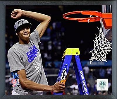 "Anthony Davis University of Kentucky Wildcats 2012 Final Four Championship Photo (Size: 17"" x 21"") Framed"