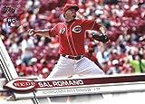 2017 Update Series #US140 Sal Romano Cincinnati Reds Baseball Rookie Card