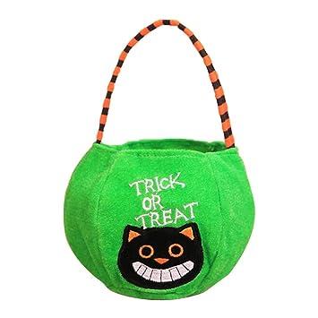 Amazon.com: Bolsa de regalo para caramelos de Halloween ...
