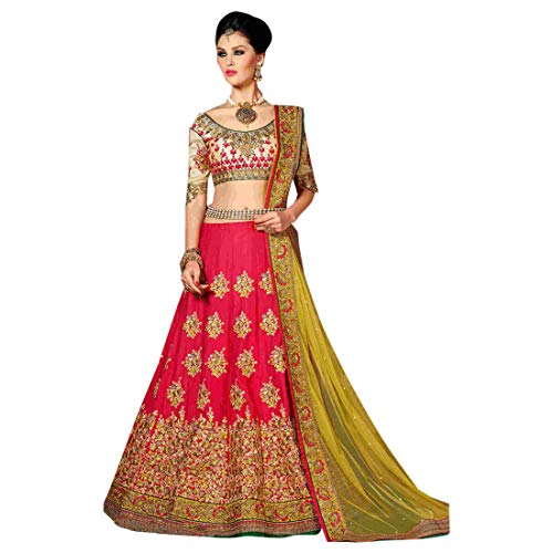 Gorgeous Bollywood Party wear Embroidered Ghagra Indian Ethnic Lehenga choli for Women 7793
