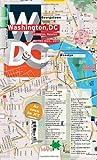 TerraMaps Washington DC Street Maps - Subway - Laminated