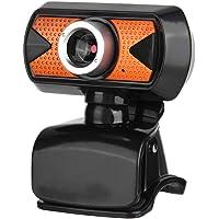 Cámara Web USB, cámara para PC fosa16M Pixel HD Cámara Web con micrófono Digital Externo Clip Giratorio de 360 Grados en la cámara Web para línea Llamadas Grabación de Video Transmisión en Youtube