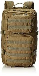 Mil-Tec Military Army Patrol Molle Assault Pack Tactical Combat Rucksack Backpack Bag 36L Coyote Tan