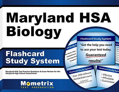 Maryland HSA Biology Flashcard Study System: Maryland HSA Test Practice Questions & Exam Review for the Maryland High School Assessments (Cards)