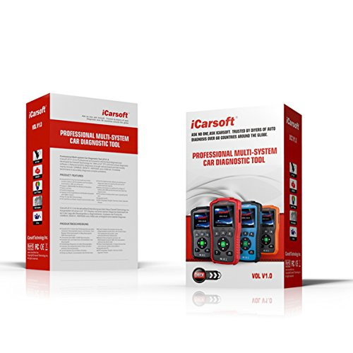 iCarsoft Auto Diagnostic Scanner VOL V1.0 for VOLVO/SAAB with Airbag Scan,Oil Service Reset ect by iCarsoft (Image #2)