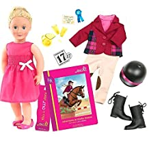 """Our Generation Deluxe Doll - Lily Anna & """"Adventures at Shelby Stables"""""""