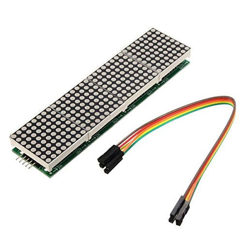 BephaMart MAX7219 Dot Matrix Module 4-in-1 Display For Arduino (Max7219 Dot Matrix Module compare prices)