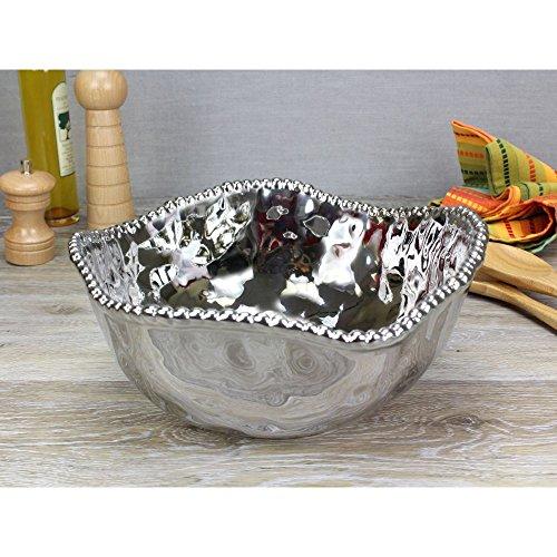 - Pampa Bay Verona Porcelain Large Salad Bowl