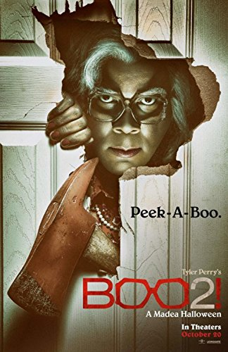 BOO 2! A MADEA HALLOWEEN (2017) Original Authentic Movie Poster - VER A - Double-Sided - 27x40 - Tyler Perry - Cassi Davis - THIS IS NOT A (New Madea Halloween)