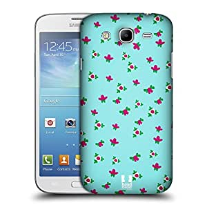 Head Case Designs Floral Nail Art Protective Snap-on Hard Back Case Cover for Samsung Galaxy Mega 5.8 I9150 I9152