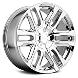 Pacer 787C Benchmark Wheel with Chrome Finish (20x9'/6x5.50', +25mm Offset)