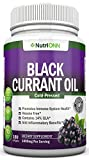 Black Currant Oil - 1000 Mg - 180 Softgels - Cold-Pressed Pure Black