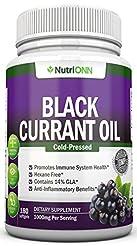Black Currant Oil - 1000 Mg - 180 Softge...