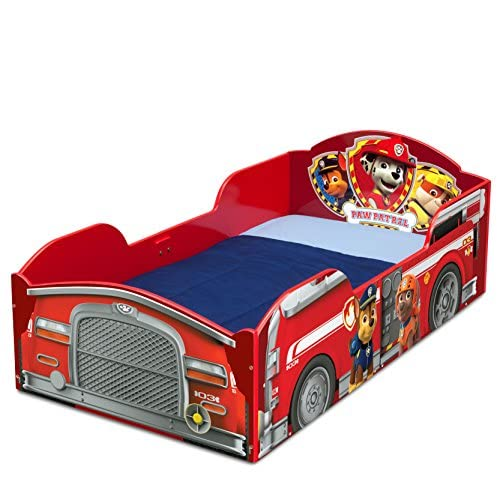 Delta Children Wood Toddler Bed, Nick Jr. PAW Patrol 4