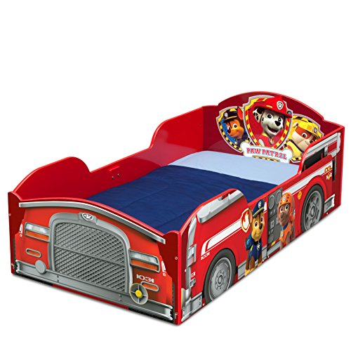 elta Children Wood Toddler Bed, Nick Jr. PAW Patrol