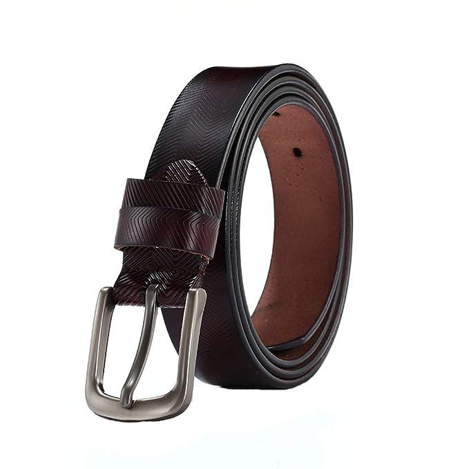 Amazon.com: Cinturones de cuero para mujer, perlas para ...
